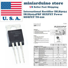 10pcs IRLB3034PBF IRLB3034 HEXFET Power MOSFET TO-220 Rectifier Box Mod