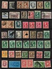Collection 19th Century Banknotes Bureaus BOB Sc #65 78 114 179 226 etc US B90
