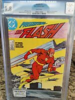 Flash #1 CGC 9.8 White Pages. New Teen Titans & Vandal Savage appearance