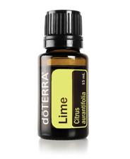 FREE POST doTERRA Lime 15ml Therapeutic Grade Essential Oil Aromatherapy