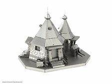 Harry Potter Rubeus Hagrid Hut: METAL Earth 3D Kit Modellino in metallo Fascinations