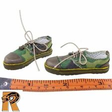 PAP Rescue Team - Shoes (Camo w/ Laces) - 1/6 Scale - DID Action Figures