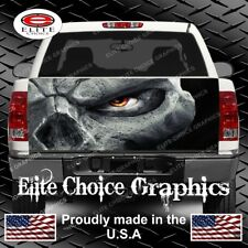 Skull Reaper Eye Truck Tailgate Wrap Vinyl Graphic Decal Wrap