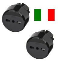 2 x Reisestecker Italien Italy Chile Travel Reise Adapter Stecker brennenstuhl
