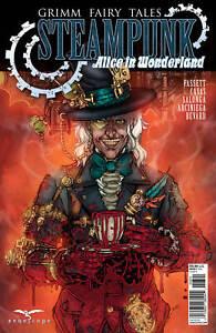 Zenescope GRIMM FAIRY TALES Steampunk Alice in Wonderland Cover B Daniel Leister