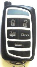 keyless remote car starter Fortin blue led transmitter Evolution FM Push control