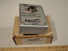 Condor A24-0.225 DC Linear Power Supply 115/230V In 24Vdc Out at .225A 47-440HZ