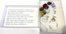 Pet Memorial Loss Sun Catcher In Memory Rainbow 🌈Bridge Poem Gift Boxed