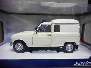 RENAULT 4 L F4 FOURGONNETTE 1:18 SOLIDO