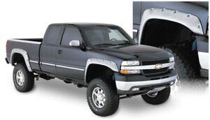 Bushwacker for 07-07 Chevy for Silverado 1500 Classic Fleetside Cutout Style Fla