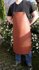 CUERO GENUINO - 70x90cm Delantal de Parrilla Cocina marrón