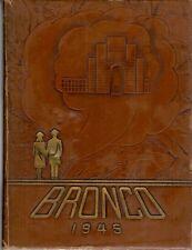 Hardin Simmons University Abilene Texas 1945 Bronco Yearbook Annual