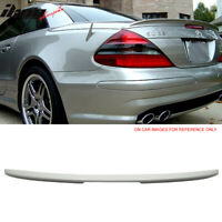 Fits 03-11 Benz SL-Class R230 AMG Trunk Spoiler Painted Alabaster White #960
