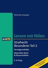Fachbücher über Rechtswissenschaften mit Strafrecht-Thema im Taschenbuch-Format