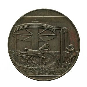 Cumberland Low Hall Colliery Halfpenny Token 1797  D&H 1
