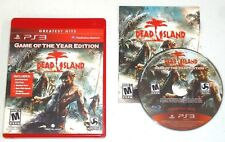 Dead Island Game of the Year Edition (Sony PlayStation 3) PS3 complete CIB GOTY
