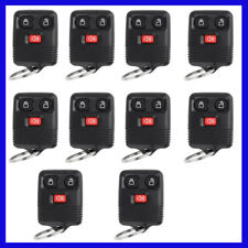 Lot of 10 Keyless Entry Remote Combo Key Fob Transponder For 04-09 Ford