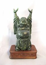 Antique Chinese Jade or Jadeite Buddha Statue figure (#824)
