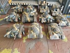 Warhammer 40k Astra Militarum Tank Army with Forge World units