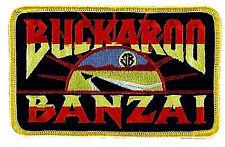 Buckaroo Banzai Patch-Jet Car Logo gestickter Aufnäher  - für Uniform - neu