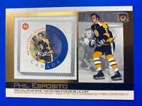 2003 Pacific Canada Post NHL All Star Stamp #18 Phil Esposito Boston Bruins