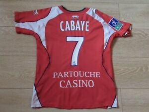 LILLE OSC Ancien Maillot Football Collector 2007-2008 n° 7 CABAYE LILLE DOGUES