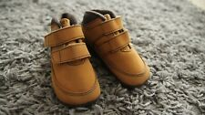 Firetrap Toddler Shoes Size 3 9-12 Months Honey Beige Leather Baby Boy Euro 19