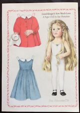 Good-Kruger's Sew Much Love Magazine Paper Doll, 1996, by Sue Shanahan