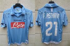 Maillot NAPLES NAPOLI DIADORA maglia calcio 2009 ASTARITA n°21 shirt trikot XS