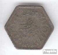 Ägypten KM-Nr. : 369 1944 sehr schön Silber 1944 2 Piaster Farouk