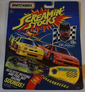 SEALED Original 1992 Matchbox SCREAMIN STOCKS Dale Earnhardt 1:64