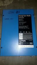 LUTRON QSN-4S16-S ENERGI SAVR NODE SOFTSWITCH LIGHTING CONTROL AUTOMATION USED