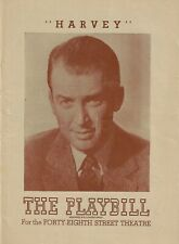"James Stewart ""HARVEY"" Josephine Hull / Pulitzer Prize 1947 Broadway Playbill"