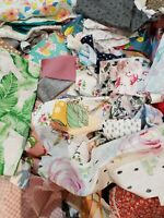 SCRAP BAG 10x15 stuffed w NEW Quilting Fabric from Premium Designers approx 2lbs