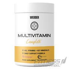 (29,62?/100g) Weider Multivitamin Complete Vitamine, Mineralstoffe, 90 Kapseln