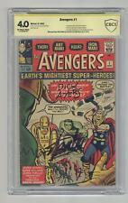 Avengers #1 CBCS 4.0 SS 1963 1st app. the Avengers
