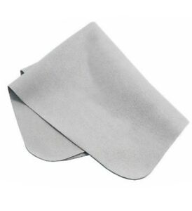 Grey microfiber cloth wipe cleaning cam lens ophthalmic screen sunglasses kn