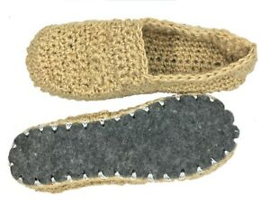 Hemp slippers - Home slippers - Handmade