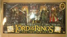 Lord of the Rings action figure box set Helm's Deep with Haldir, Gimli, Legolas