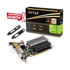 SCHEDA VIDEO NVIDIA GEFORCE GT 730 4GB DDR3 GT730 LOW PROFILE LP SCHEDA GRAFICA-