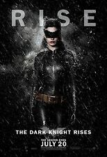 Batman The Dark Knight Rises (2012) Movie Poster 24x36 - Anne Hathaway Catwoman