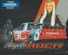 "2019 ANGELA RUCH ""GLOBAL GROWTH PARTNER"" #8 NASCAR GANDER OUTDOOR TRUCK POSTCARD"