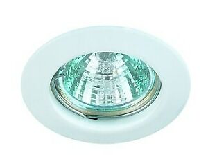 Brumberg Einbaustrahler 50W GX5,3 weiß matt NV-Halogenlampe IP20 ohne... 3252.07