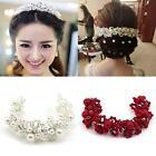 Shining Chic Princess Bridal Wedding Pearl Crystal Tiara Hair Accessory Jewelry