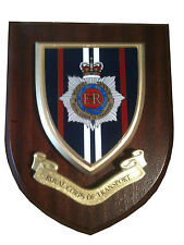 RCT Royal Corps of Wall Plaque UK Made for Mod Military