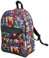Marvel Avengers Official Backpack for Children Boys Girls Adults Comics Back Pac
