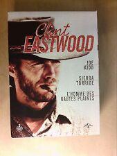 COFFRET 3 DVD / CLINT EASTWOOD / JOE KIDD + SIERRA TORRIDE + HAUTES PLAINES ++