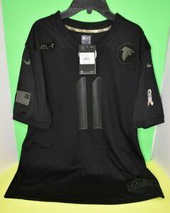 Nike Youth Atlanta Falcons Julio Jones Black Salute to Service Game Jersey Sz XL