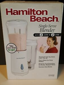 Hamilton Beach 51102 Single Serve Blender - White