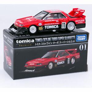 Takara Tomy Tomica PREMIUM 01 SKYLINE TURBO SUPER SILHOUETTE Diecast Car